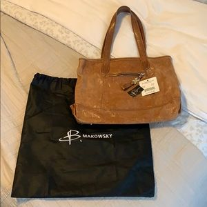 BMakowsky genuine leather Quinn Tote